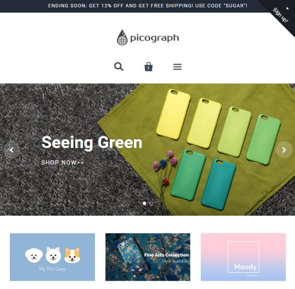 Homepage Capture