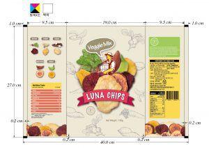 Luna chips 디자인